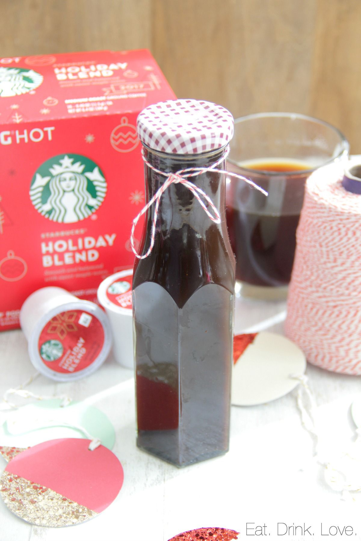 Gingerbread Coffee Syrup Eat. Drink. Love. (With images