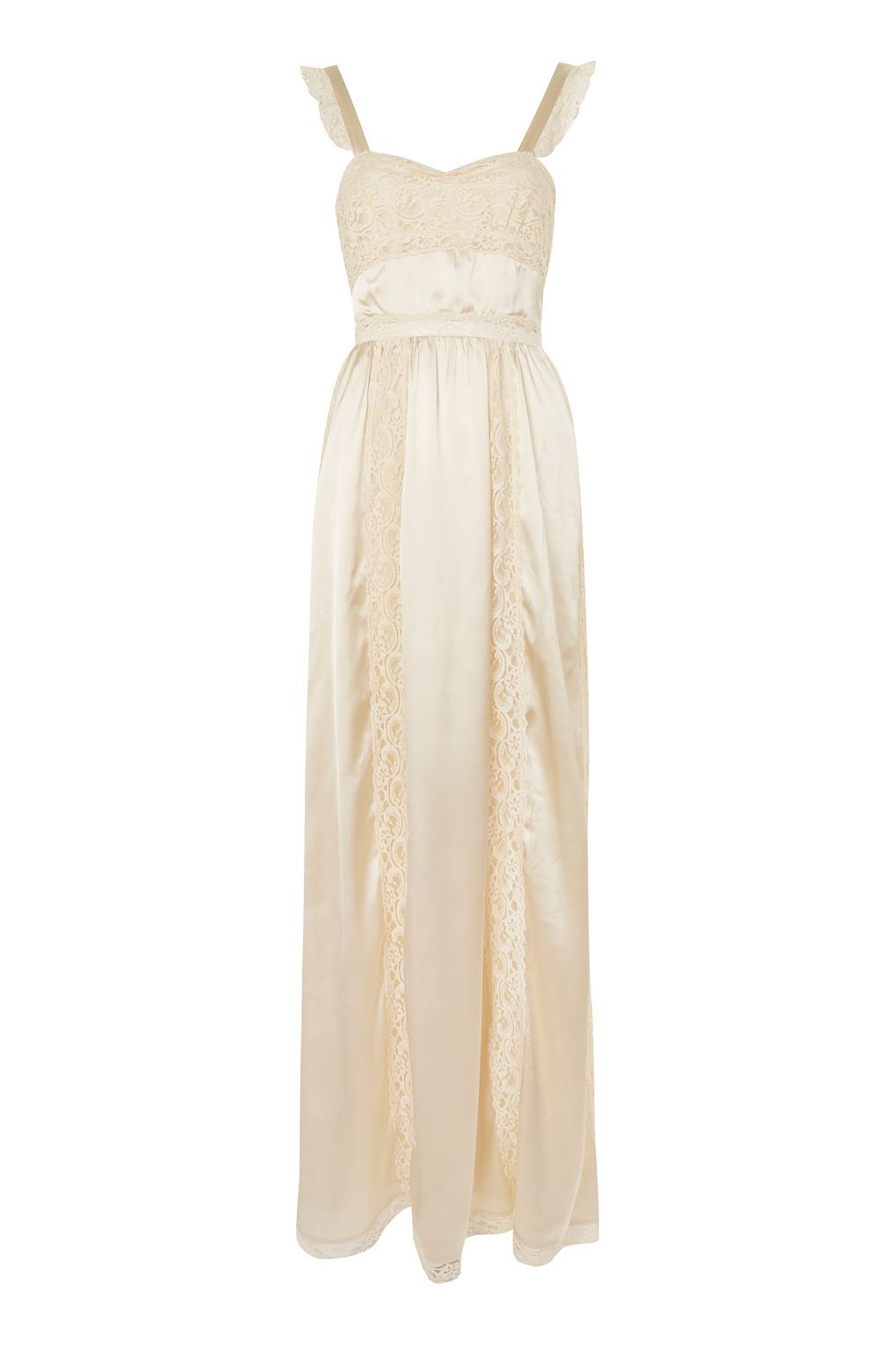 Topshop Lace Maxi Dress Summer Long Prom Wedding Evening Party Sleeveless