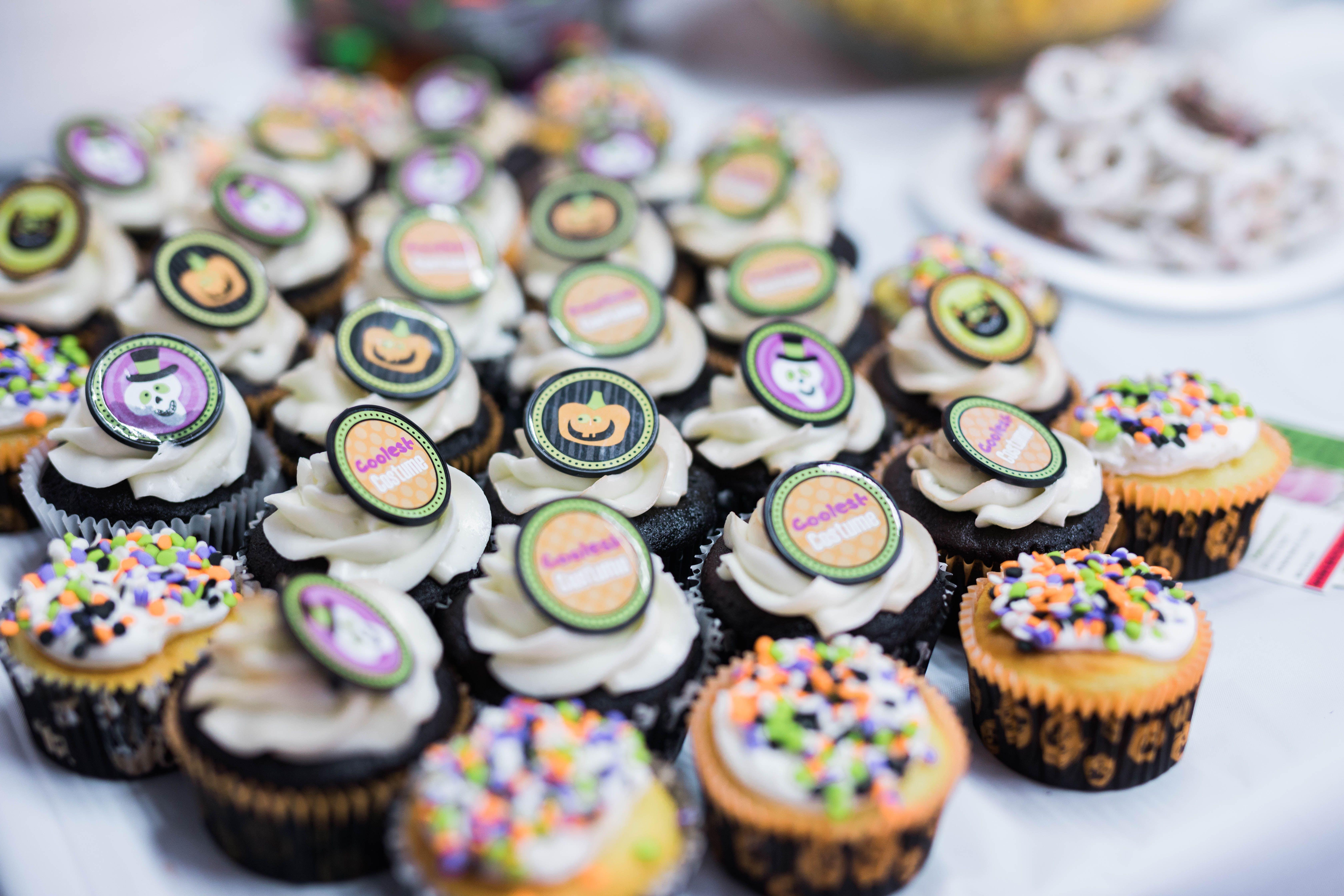 Halloween Cupcakes Made By Chef Aura Fuenmayor Myrtle Beach Sc