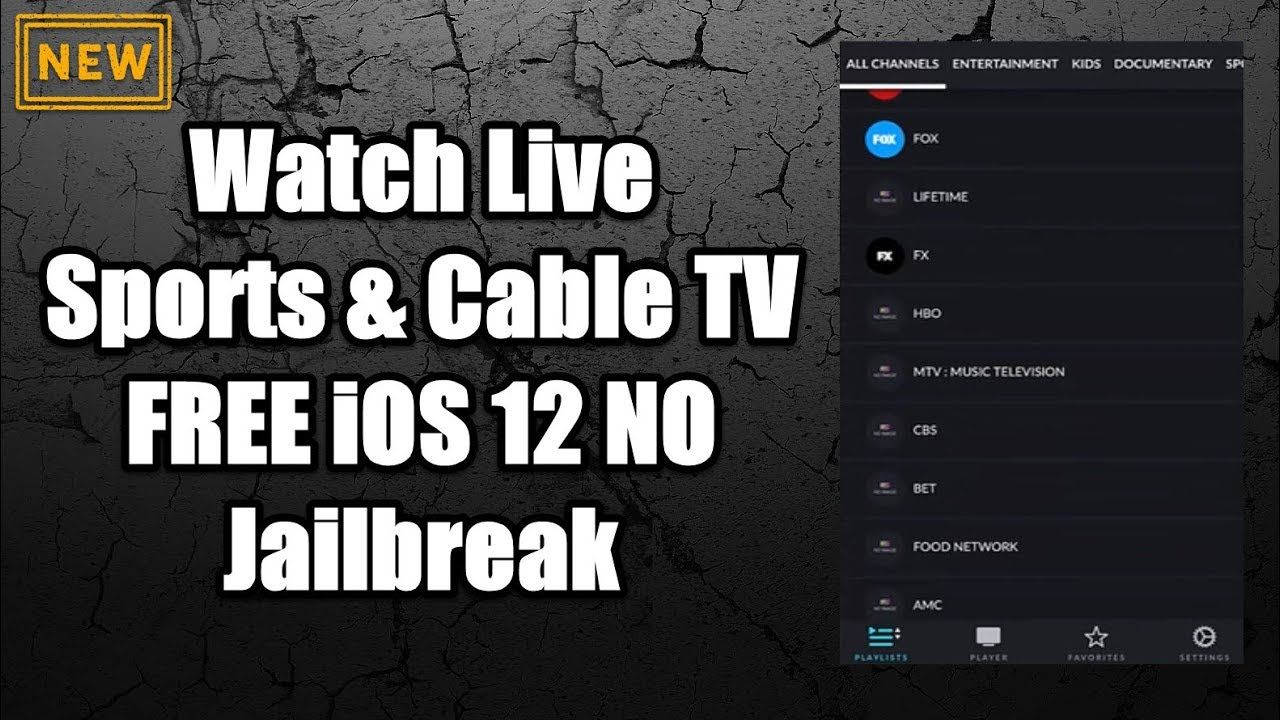 Best Apps To Watch Live Sports & Cable TV FREE iOS 12 NO