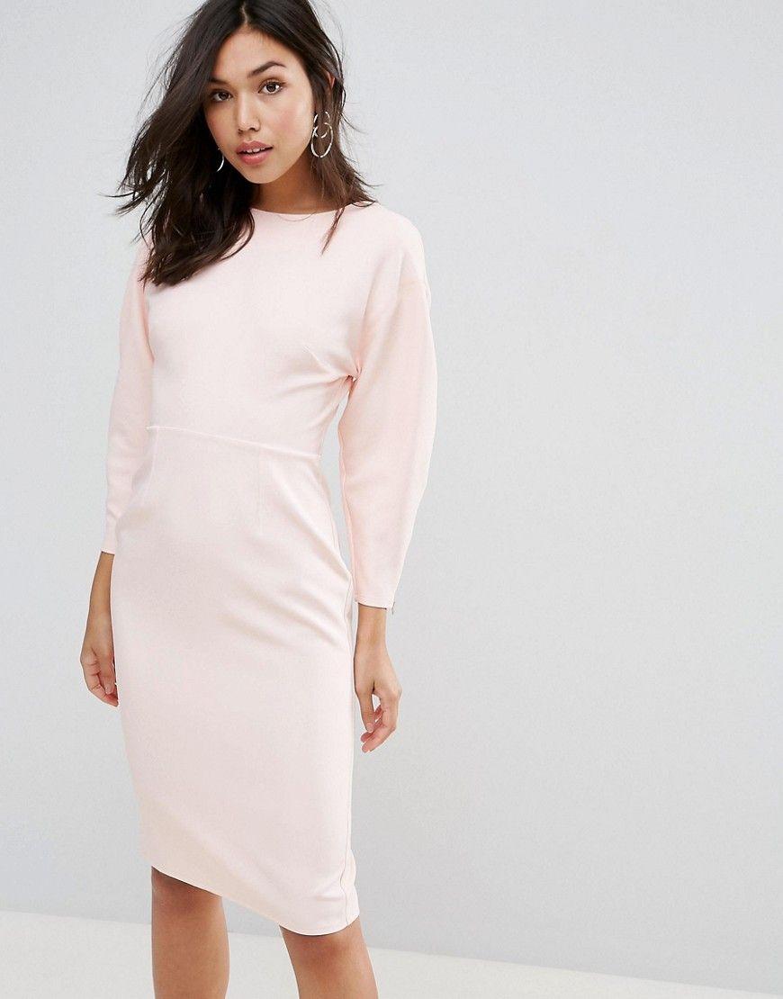 84208d1050 Get this asoss tube dress now click for more details worldwide jpg 870x1110  Asos pink dress
