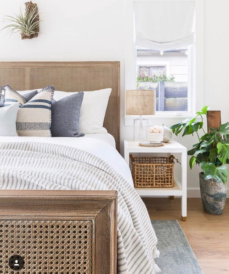 beach inspired master bedroom Coastal style bedroom
