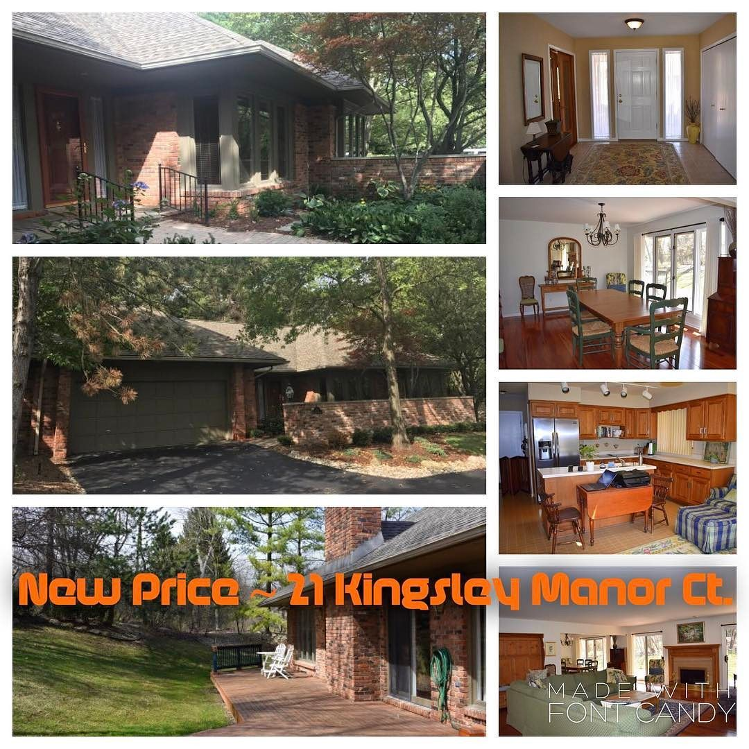 Awesome New Price! Our Listing At 21 Kingsley Manor Ct. In Bloomfield Hills Is Now  $485000. Itu0027s A Wonderful Private End Unit Ranch With Brick Courtyard Entry  In ...