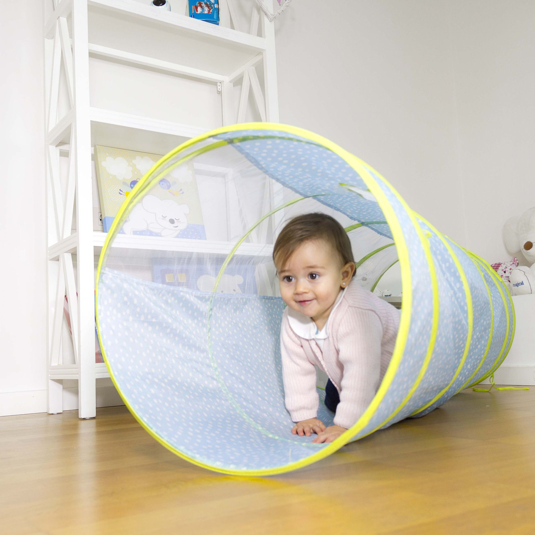 Túnel de juegos plegable para bebé   Juego, Corriendo y Bebé