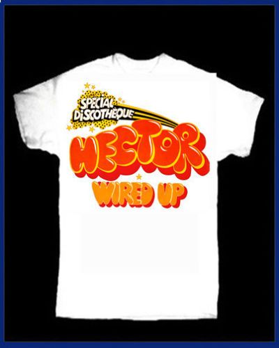 9eb2d698207 HECTOR Wired Up T-SHIRT 70s GLAM ROCK GLITTER SLADE The SWEET GIUDA T-REX  45 7