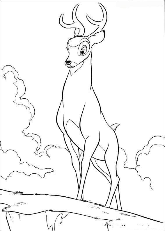 ausmalbilder bambi – Ausmalbilder für kinder | Ausmalbilder für ...