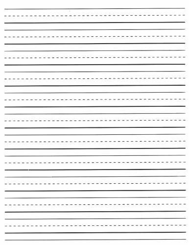 Free Printable Lined Writing Paper Free Lined Writing Paper For First Grade  2 Ideas Lined Writing Paper