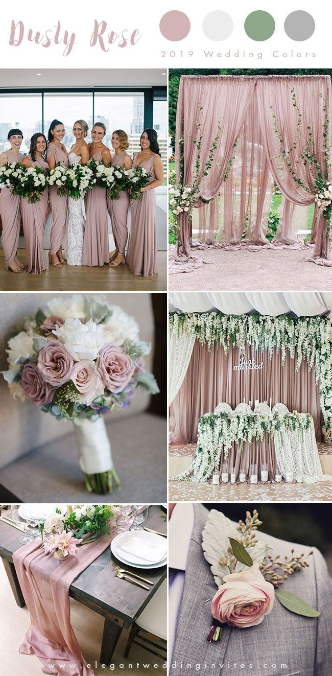 22++ Dusty rose and green wedding theme inspirations