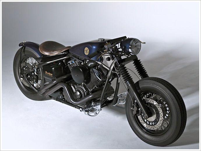 Destino Custom Garage -'Samurai' - Pipeburn - Purveyors of Classic Motorcycles, Cafe Racers & Custom motorbikes