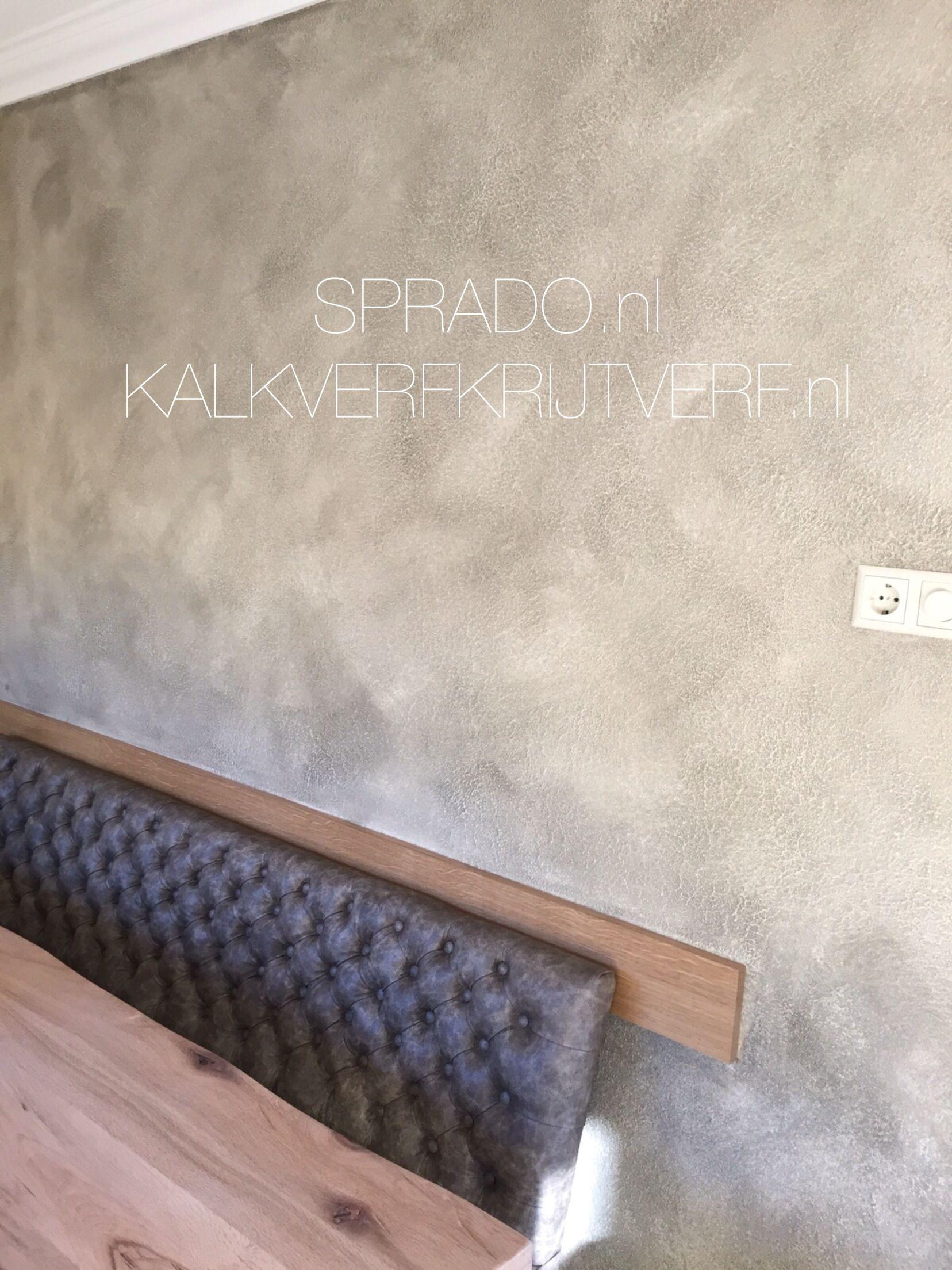 Betonlook verf van l 39 authentique paints kleur zandsteen for Betonlook verf