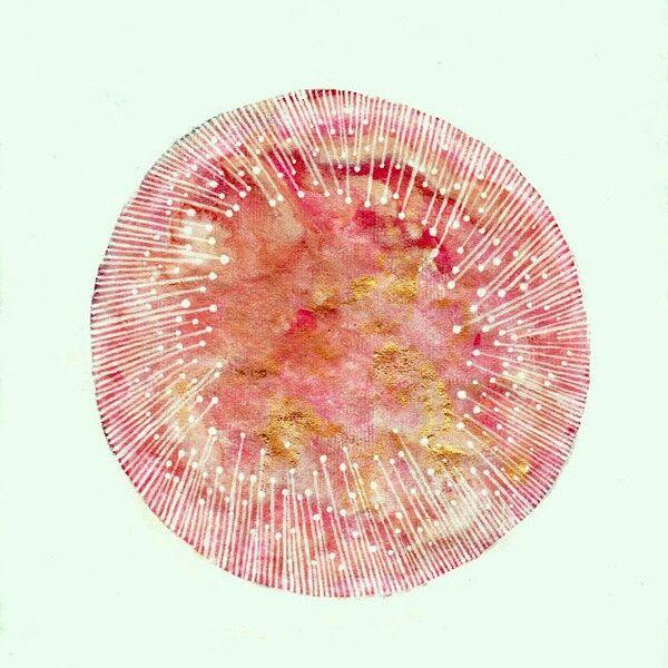 Elise Mahan. pink moon- april
