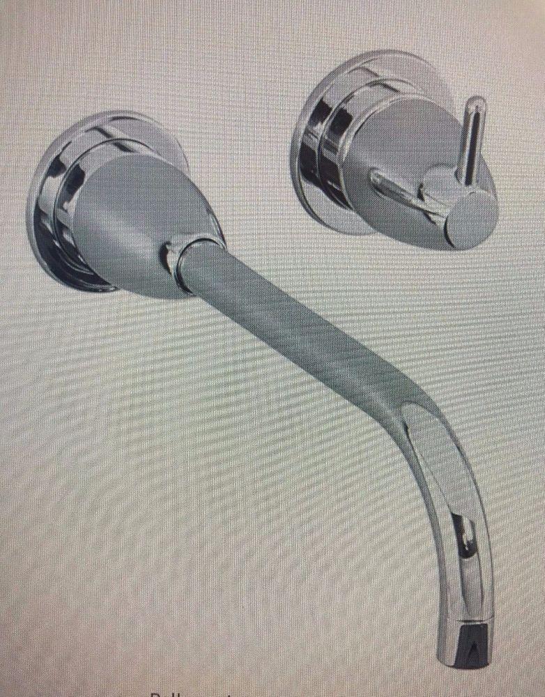 KOHLER T199-CP Falling Water Wall Mount Bathroom Faucet Trim Kit ...