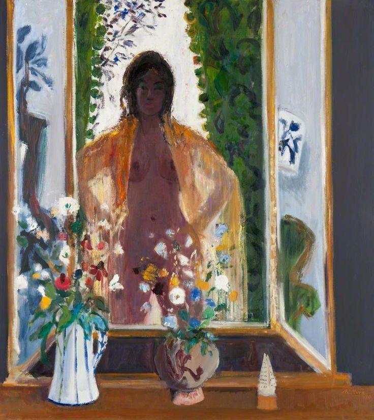 david mcclure artist | ... in a Mirror - David McClure - 1970 | Representational Art 1950