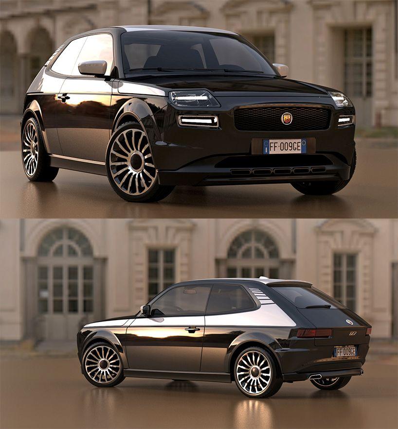 Fiat 127 Sport Concept Auto Auto Da Sogno Auto Da Collezione
