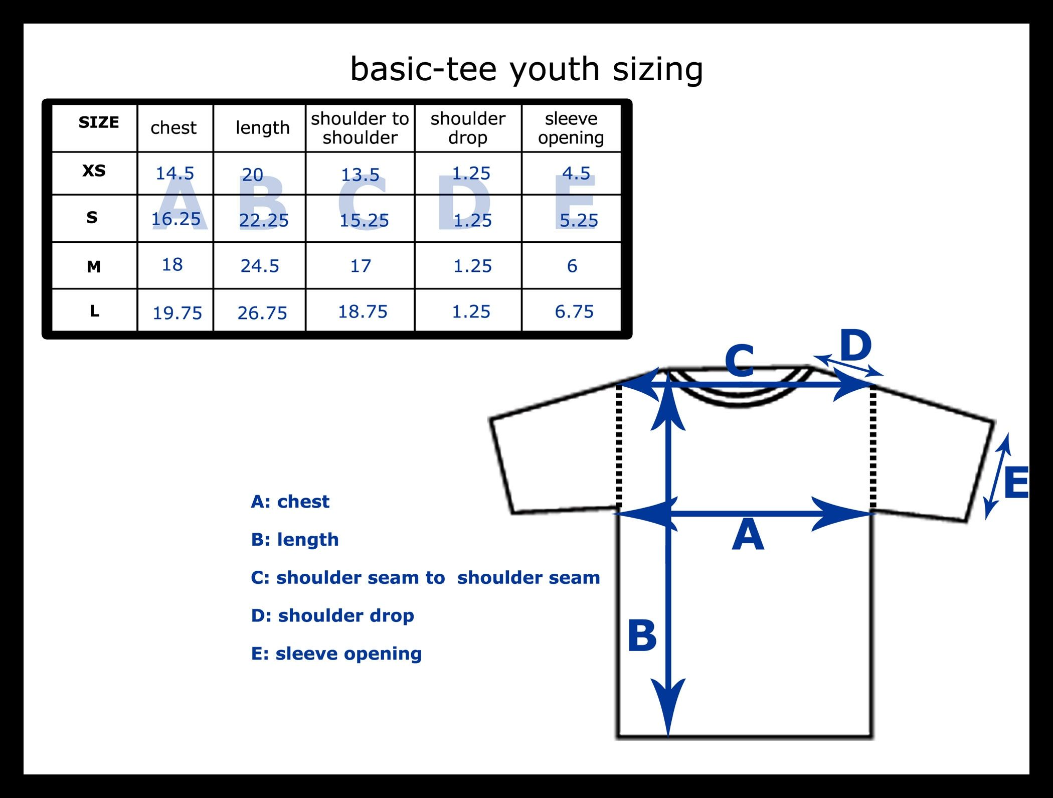 youth size shirts - Siteze