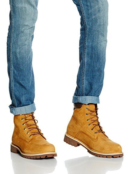 Ankle Boots, Brown (Wheat Nubuck