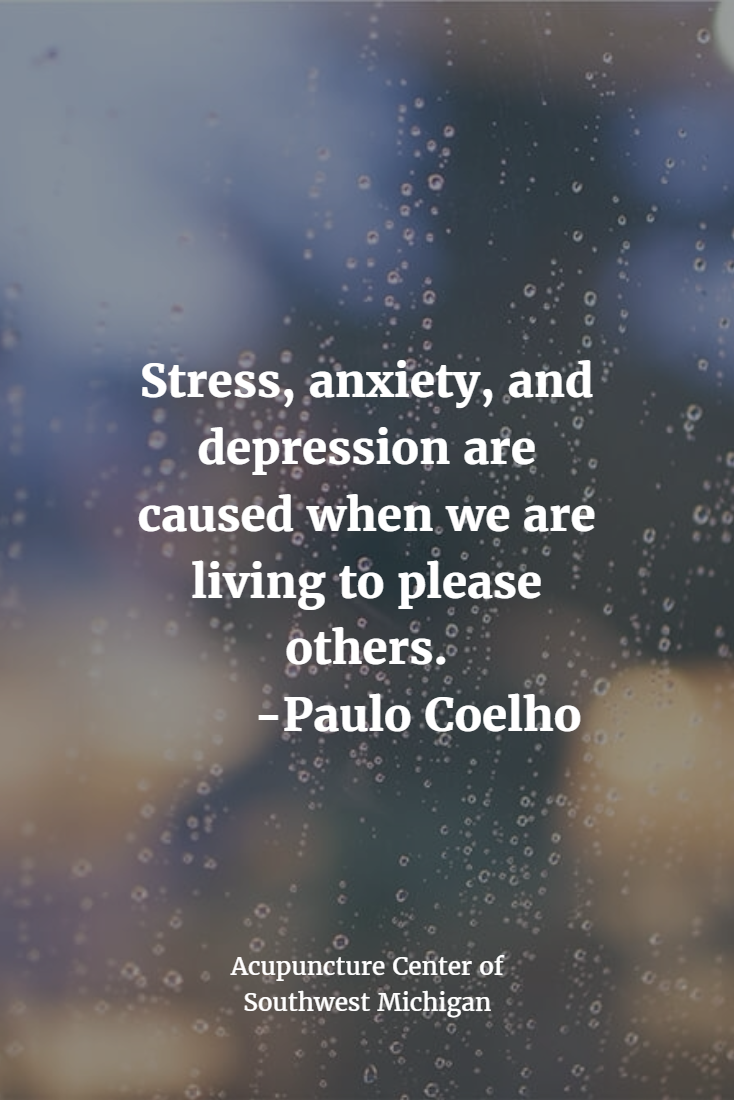 Anxiety And Depression Quotes New Stress Anxiety And Depression Are Caused When We Are Living To