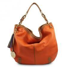 Resultado de imagen de bolsos naranjas