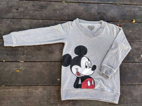 Check out this item in my Etsy shop https://www.etsy.com/uk/listing/499763918/mickey-mouse-big-logo-sweatshirt-jumper