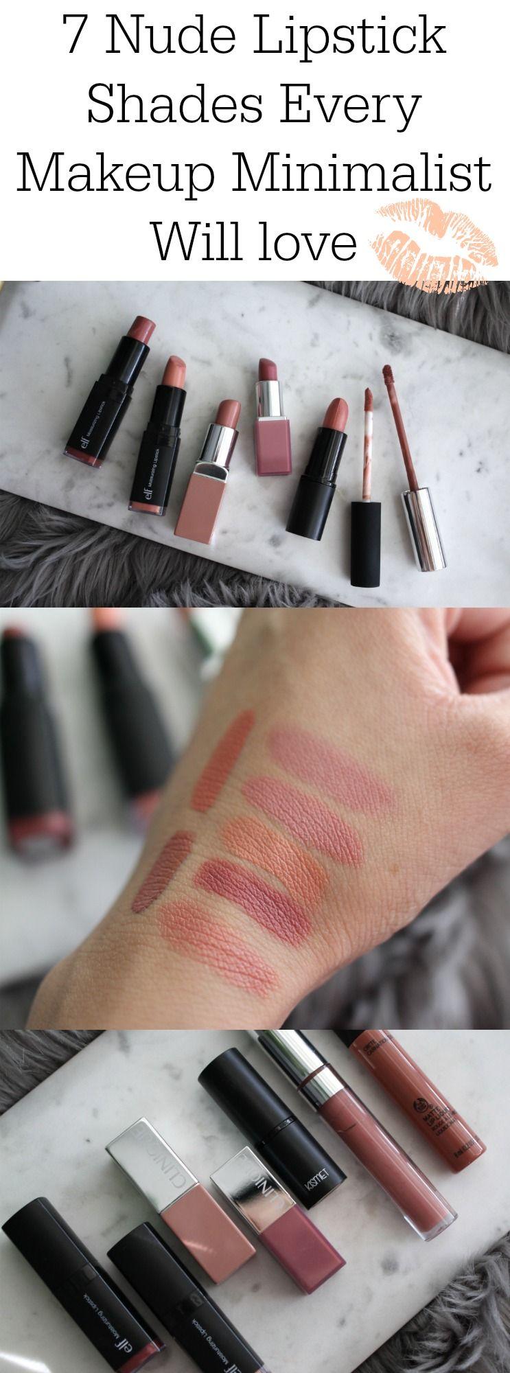 Best Nude Lipstick Shades
