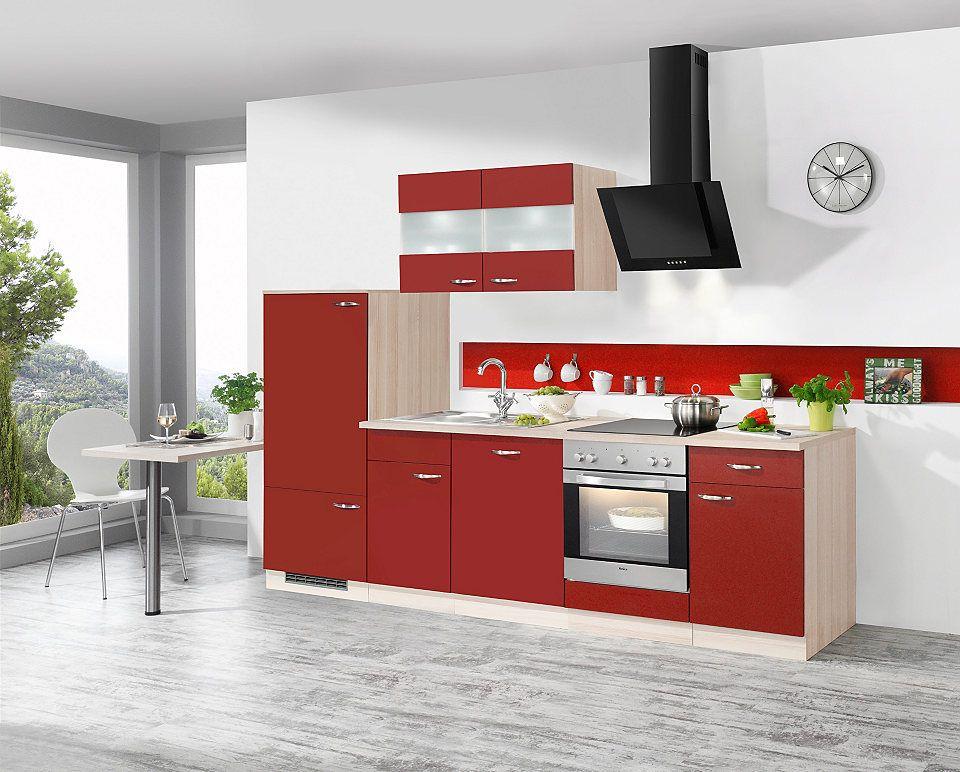 Küchenzeile mit E-Geräten »Dakota«, Breite 270 cm Jetzt bestellen - küchenblock ohne e geräte