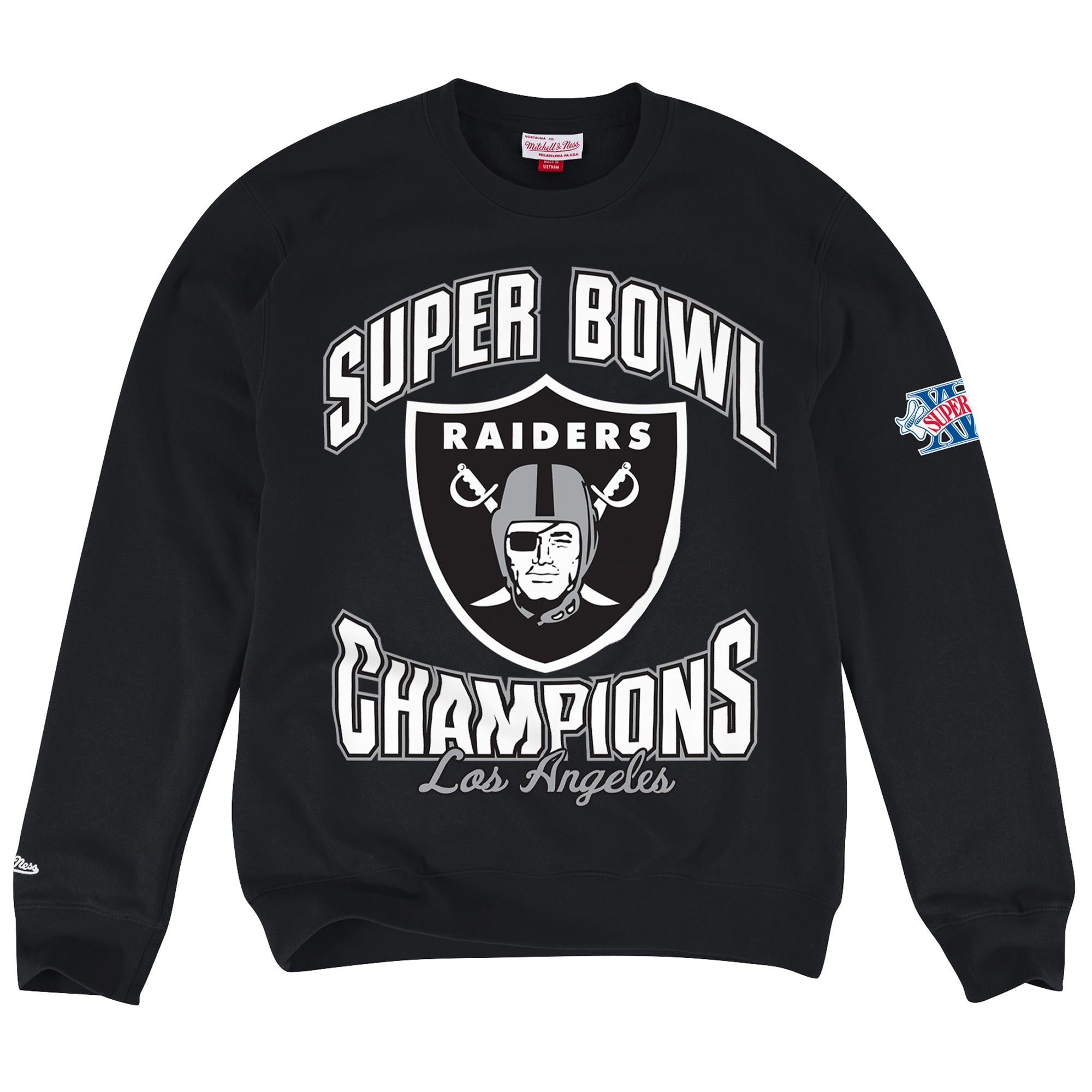 622ab1b7d Team of the Year Crew Los Angeles Raiders - Shop Mitchell   Ness NFL Fleece  and Sweatshirts