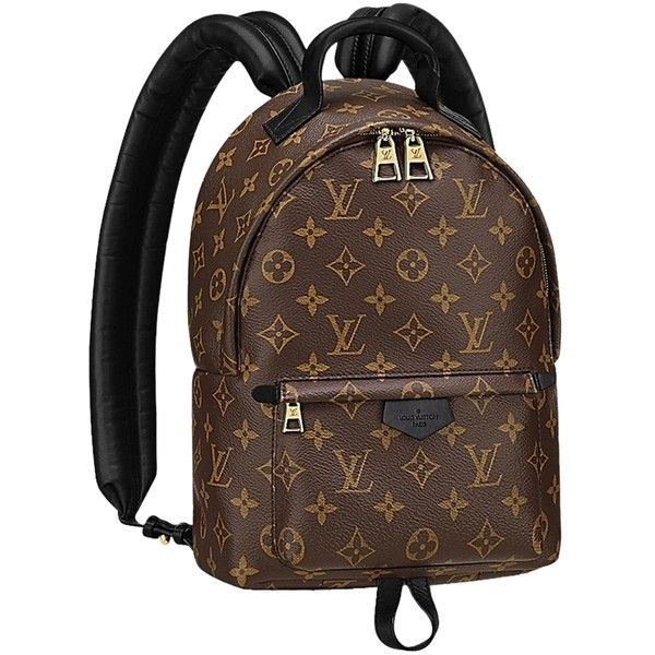 Pre-owned Louis Vuitton Monogram Pm Backpack ( 2,499) ❤ liked on Polyvore  featuring d347011bfc