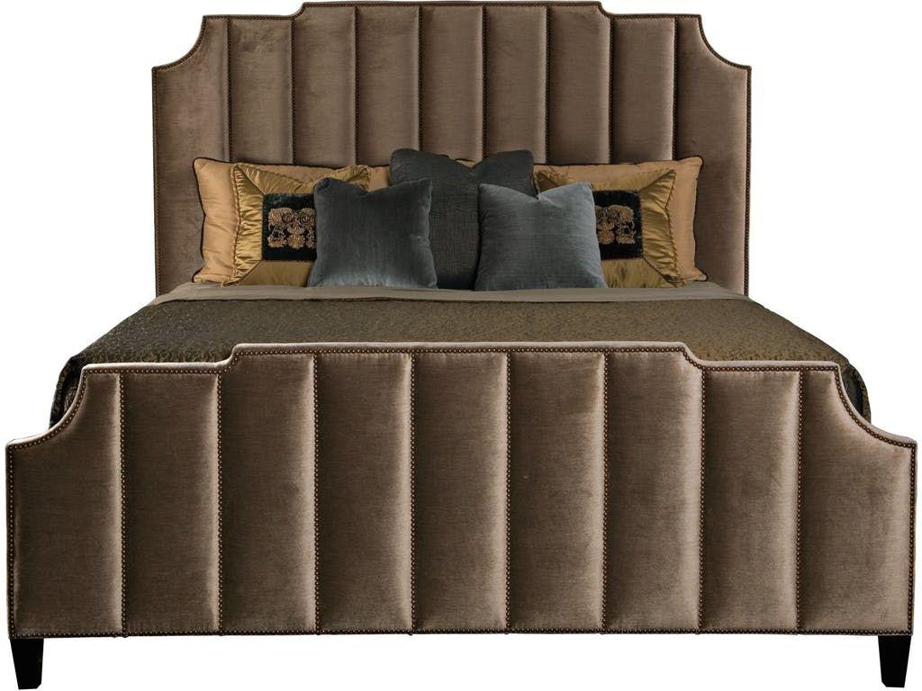 bernhardt interiors bayonne upholstered bed 362 h54 362 fr54
