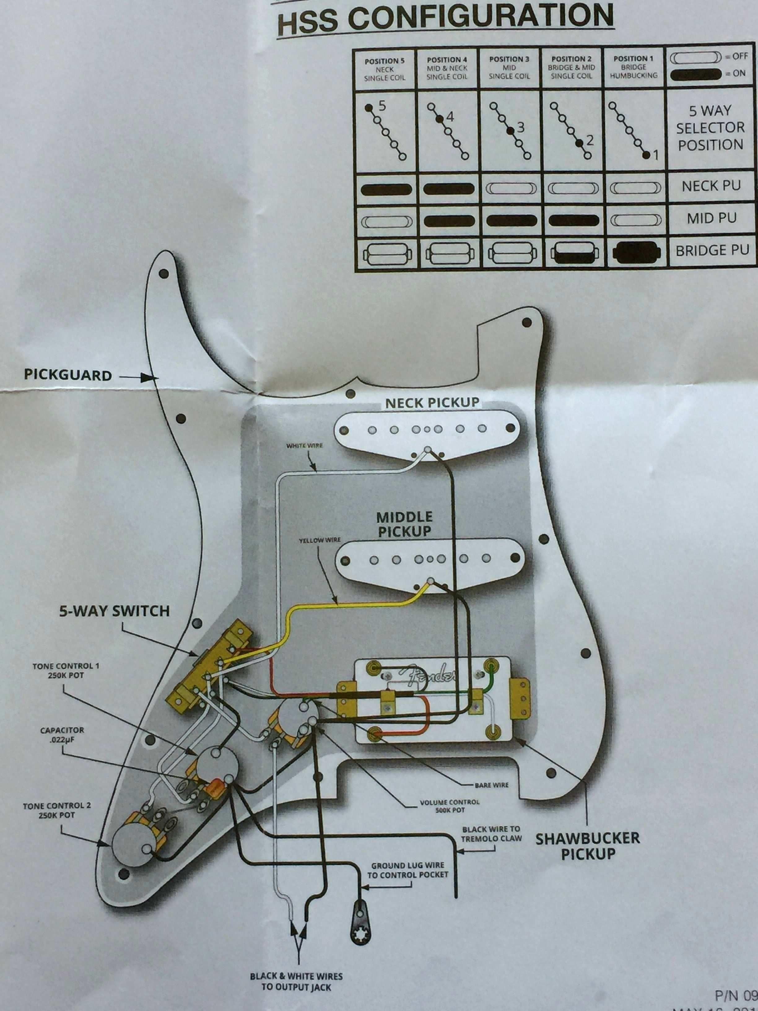 New Wiring Diagram Fender 5way Switch Ovation guitar