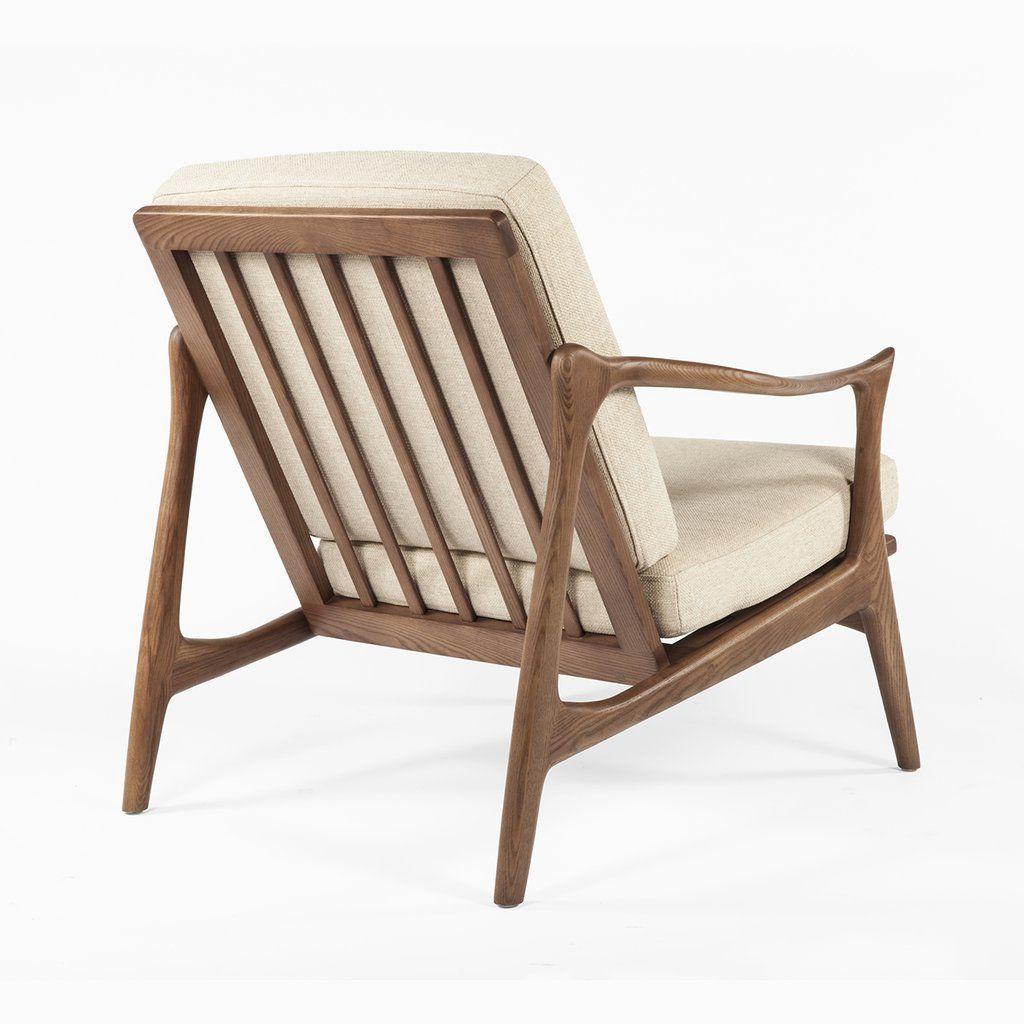 Mid Century Modern Reproduction Model 711 Danish Lounge Chair