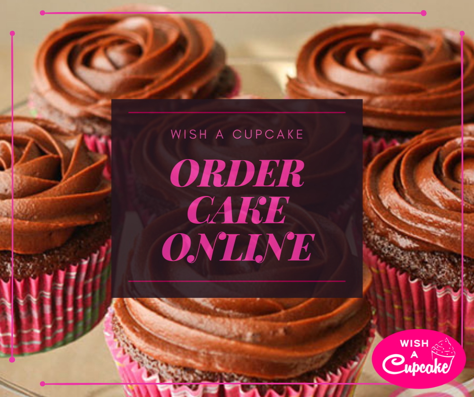 Looking For Online Cake Delivery In India Wish A Cupcake Offers Birthday To