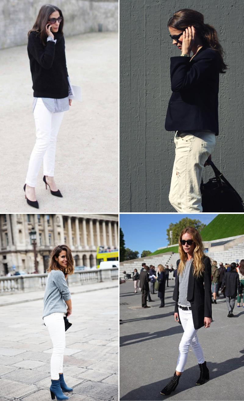 LA PETITE, Sketchbook Six: White jeans