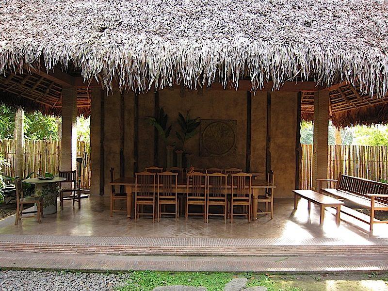 Bamboo Huts Design