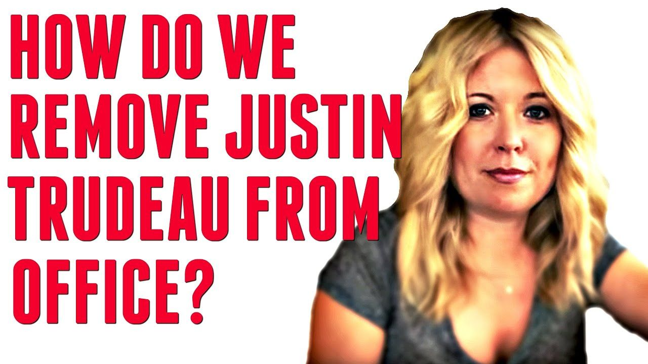How can we remove justin trudeau from office trudeau
