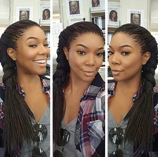 65 Best Micro Braids To Change Up Your Style Good Hair Pinterest