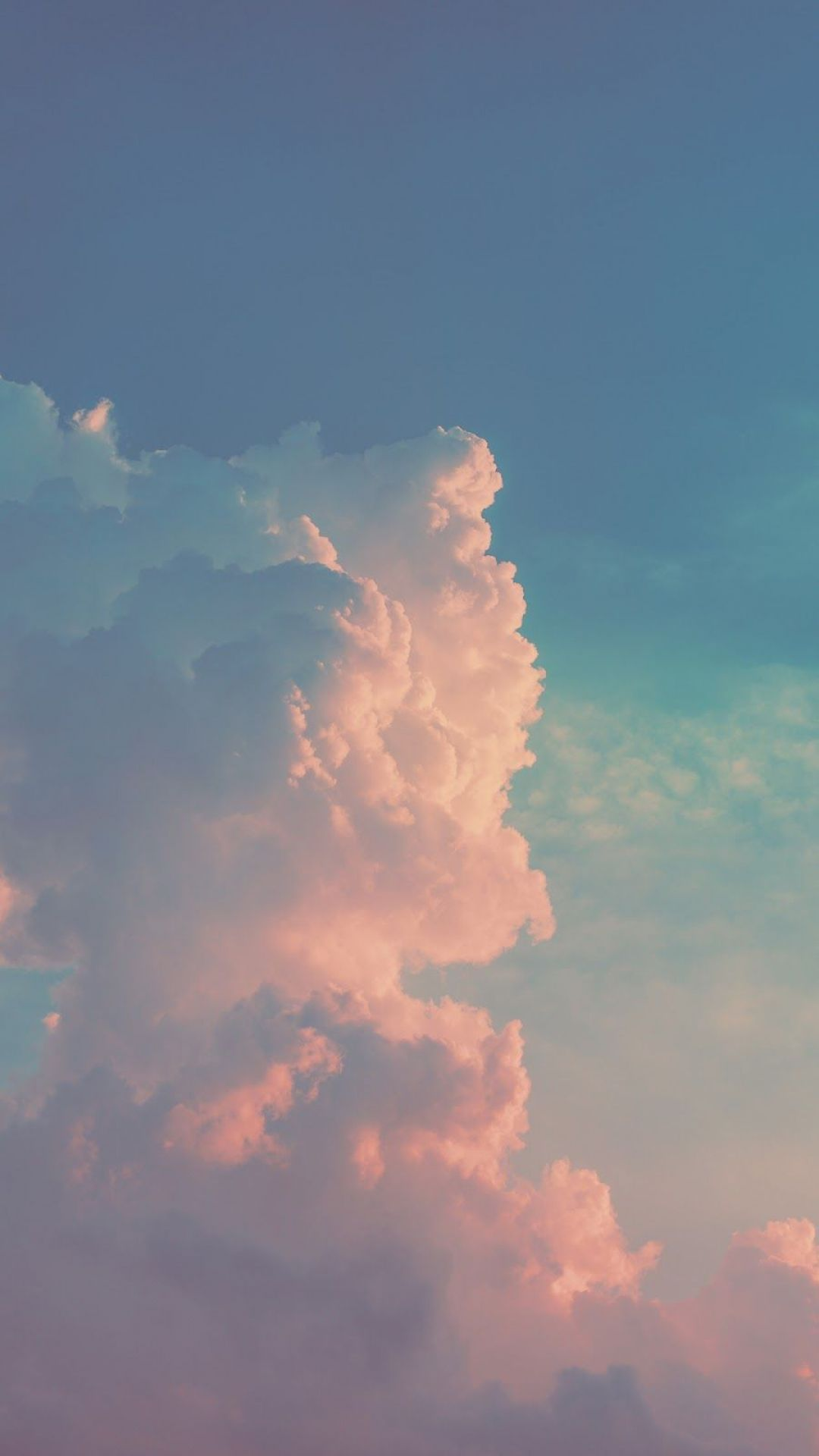 Clouds Android Iphone Desktop Hd Backgrounds Wallpapers 1080p 4k 126302 Hdwallpapers Androidwa Sky Aesthetic Cloud Wallpaper Aesthetic Wallpapers