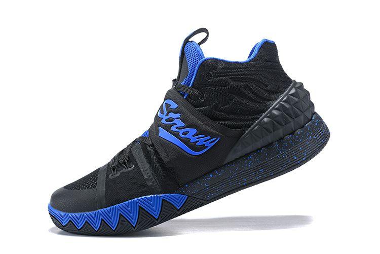Nike Kyrie S1 Hybrid Black-Royal Blue Cheap Kyrie Shoes 2018 ... 0931372af978