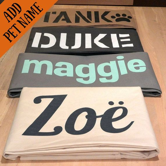 As seen on HGTV, Custom Pet Bed Cover, You Choose Fabric