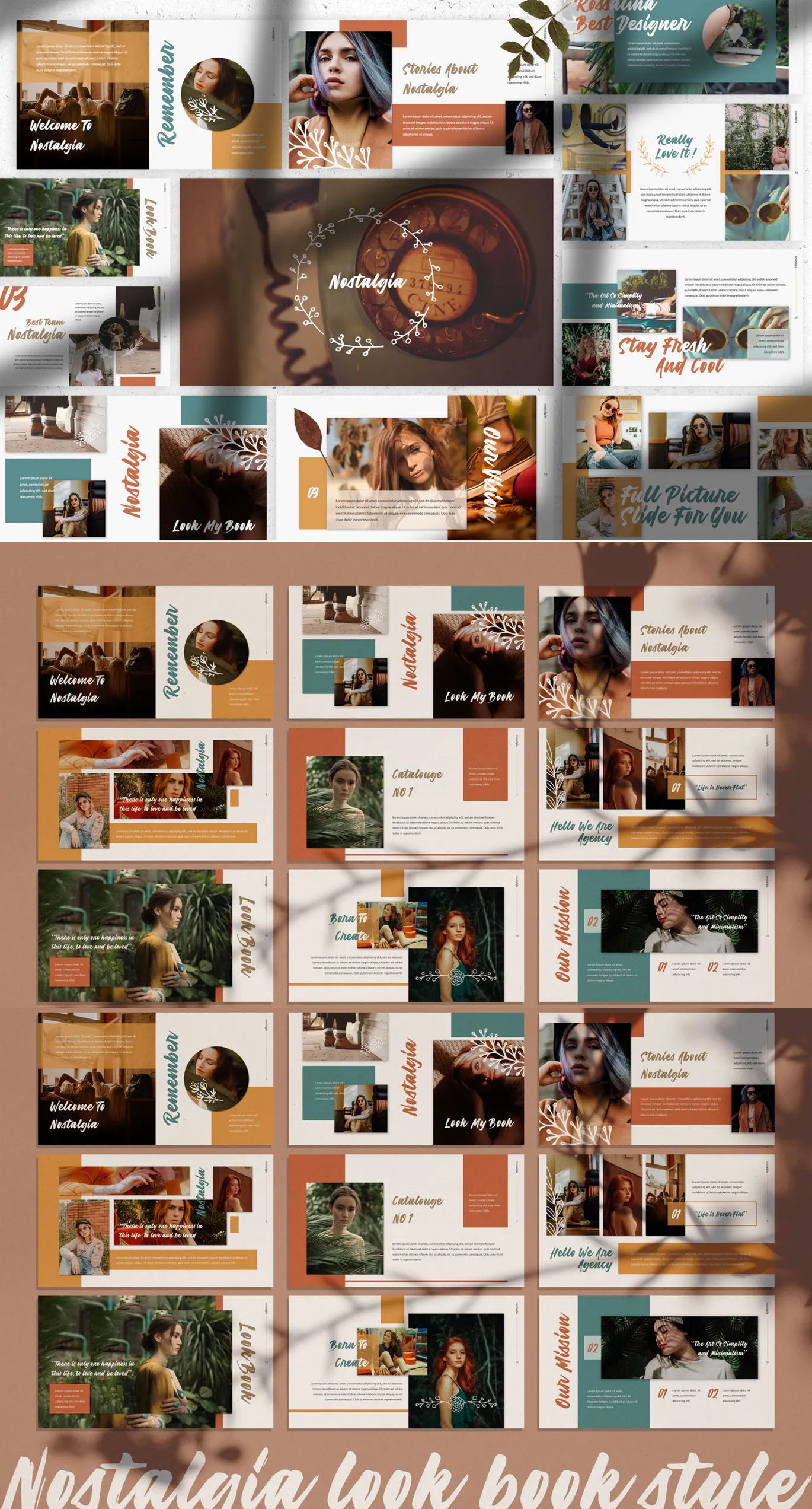 Nostalgia Powerpoint Presentation Template
