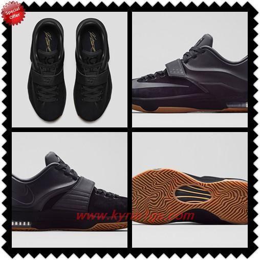 "717593-001 ""Black Suede"" Nike KD 7 EXT Black Mens For Sale ZMG3S3"