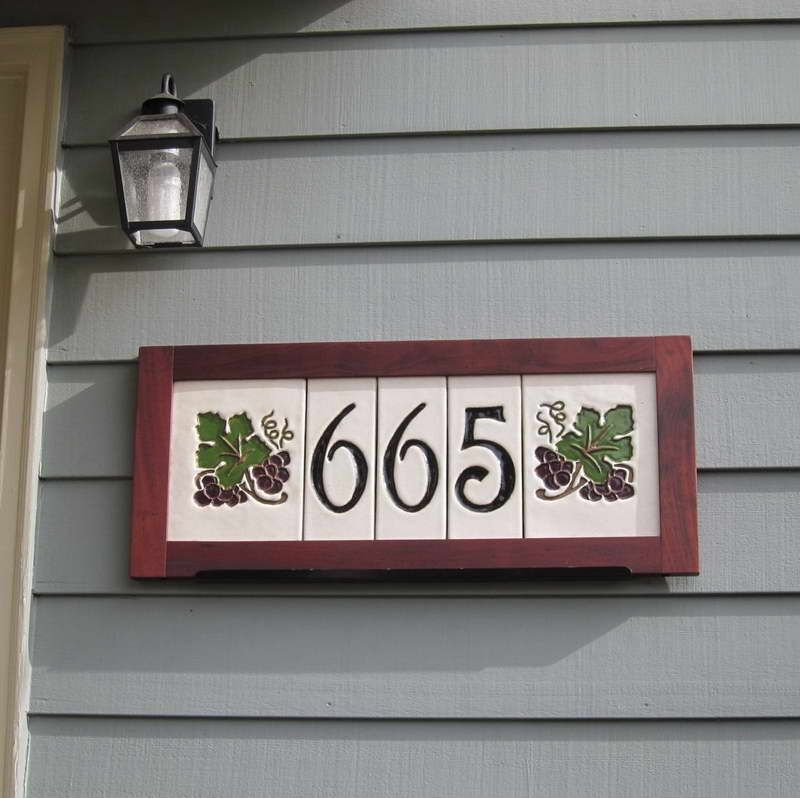 Decorative Tile House Numbers House Number Tiles Decorative  Image Above Is Other Parts Of