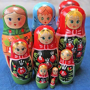 <3 russian Dolls