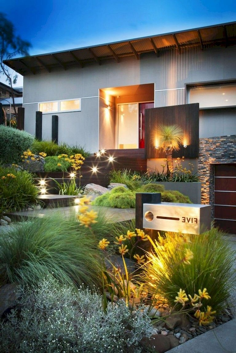 53+ Lovely Front Yard Pathways Landscaping Ideas # ...