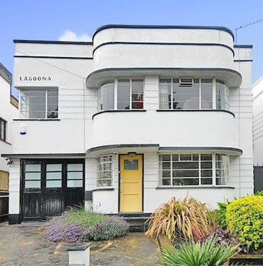 art deco house in southgate london also rare modernist home full of history for sale on hayling island rh pinterest
