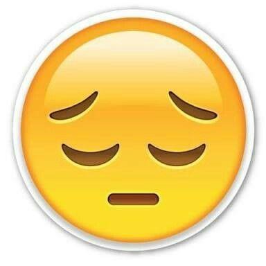 Resultado de imagem para emoji triste