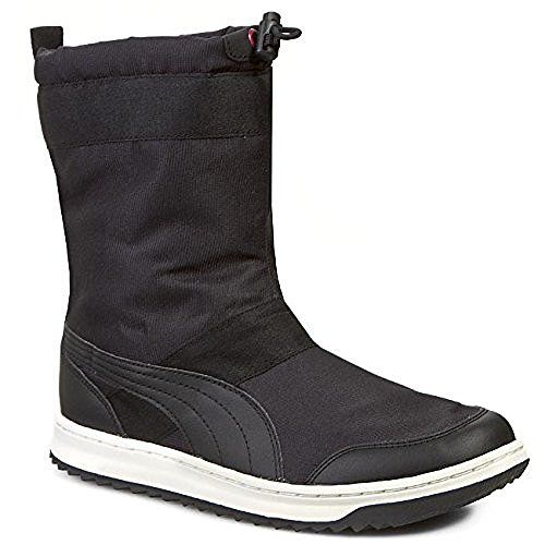 Womens Puma Black Snow Ankle Boots 55