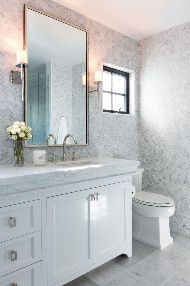 26+ Gray Bathroom Ideas Worthy of Your Experiments | Grey ...
