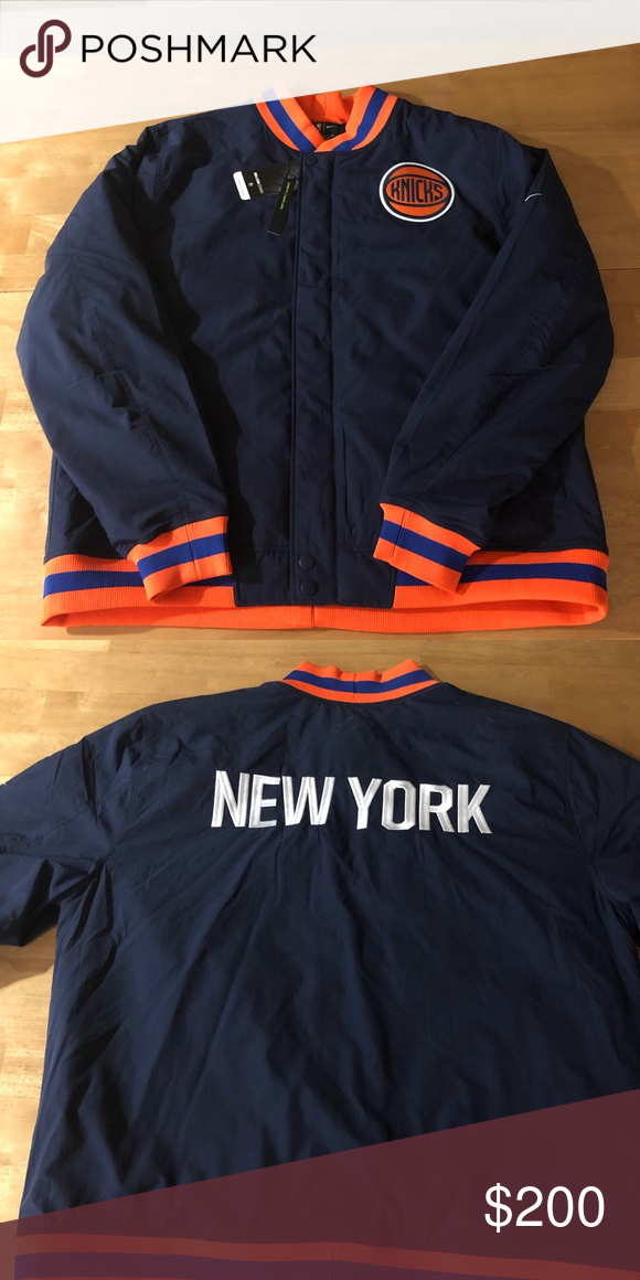 74fad9f56309 New York Knicks Nike City Edition Jacket Brand new. Got as a gift and never