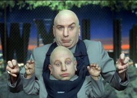Dr Evil And Mini Me Belly Busters Super Villains Humor