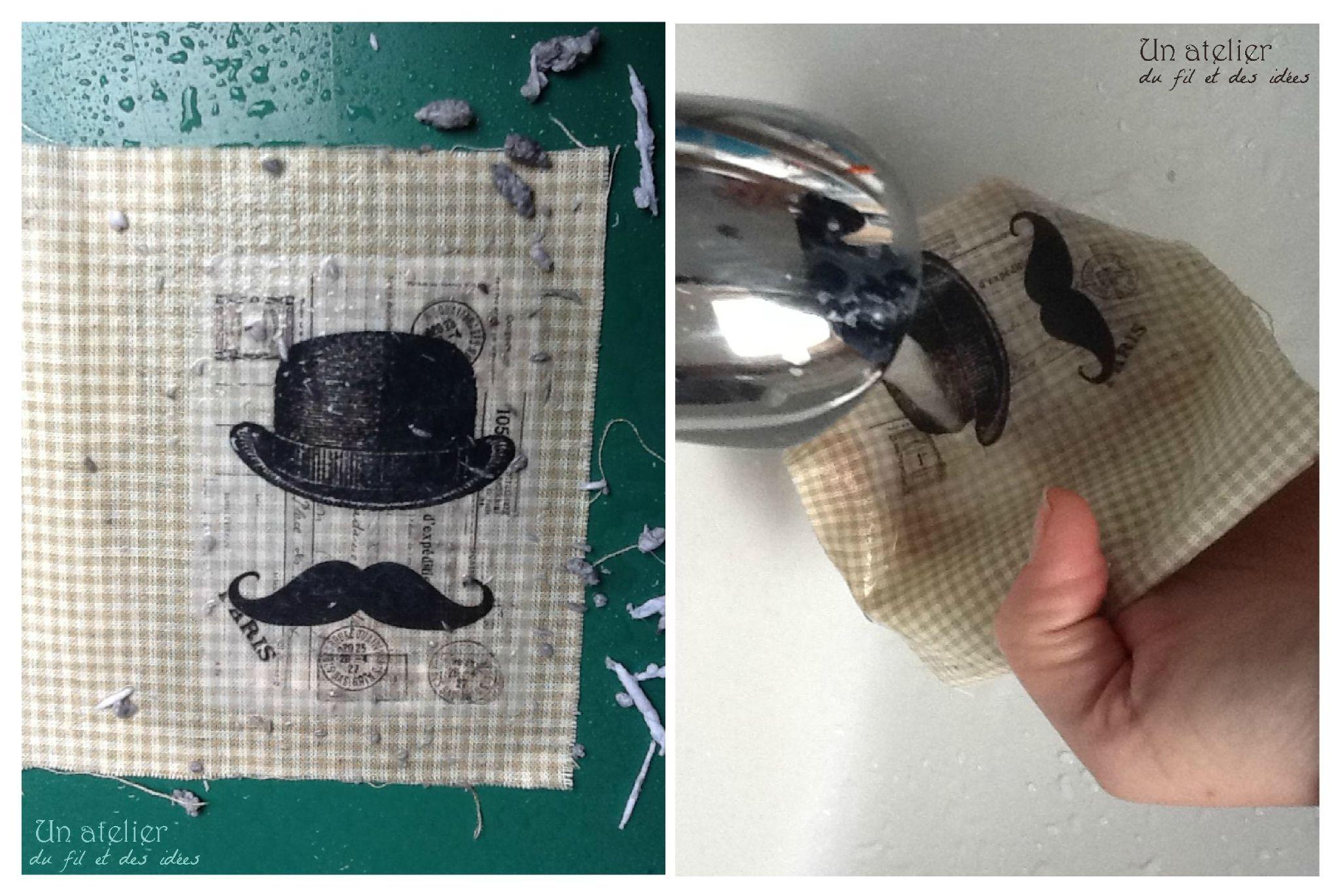 tuto transfert sur tissu couture tricot etc pinterest. Black Bedroom Furniture Sets. Home Design Ideas